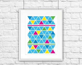 Triangle for Days Print