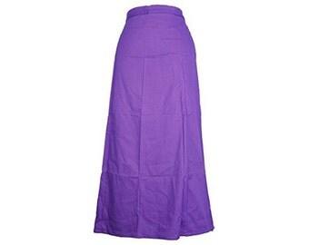 Ready made Cotton Petticoat for Saree, inskirt for saree, Pure Cotton Petticoats, Women Petticoats - High quality, Skirt Sari