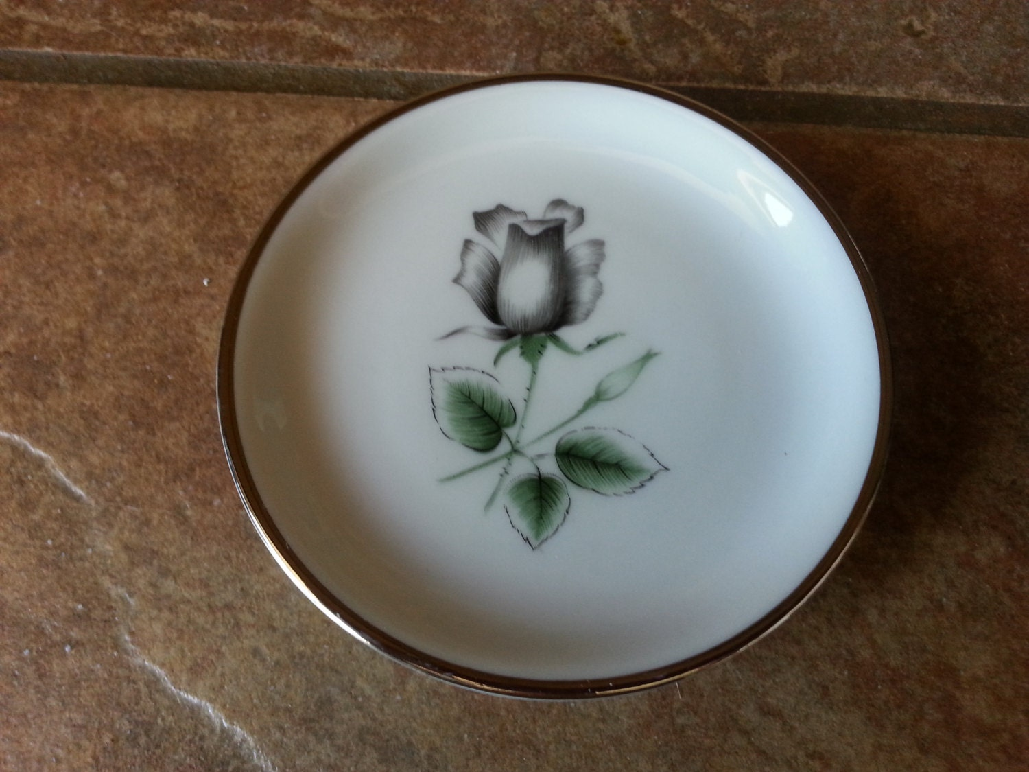Butter pad plate stonegate bavarian china in the midnight for Alpine cuisine fine porcelain design germany