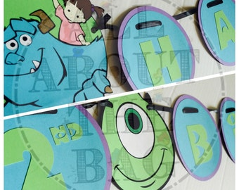 Monsters Inc Banner