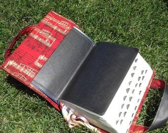 Red Music Scripture Case