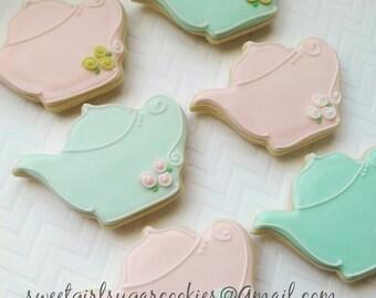 Teapot sugar cookies(12)