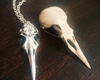 Bird Skull Necklace