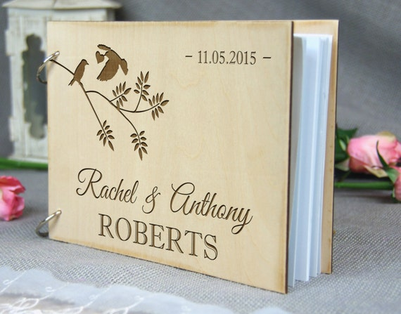 Wedding Gifts For Couples In Singapore : Anniversary Bridal shower guest book, Personalized gift for couple ...