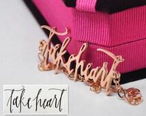 Customized Handwriting Bracelet Rose Golden, Personalized Signature Memory Bracelet, Nameplate Keepsake Elegant Bracelet, Christmas Gift