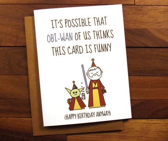 Monster image throughout star wars printable birthday cards