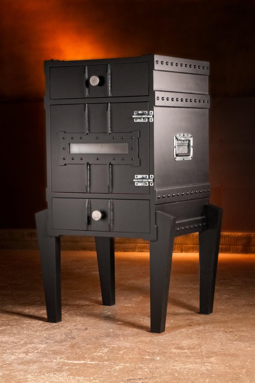 Industrial Liqour Cabinet. Gun Cabinet Steampunk by ...
