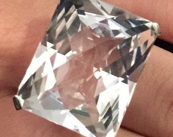 Rock Crystal Ring Silver 925