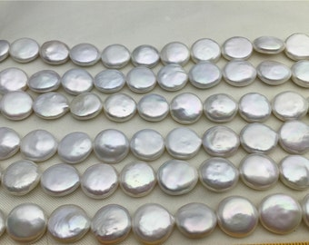 30% OFF,12-13mm,White Coin Pearl,GOOD QUALITY,30pcs,thickness,large hole size,high luster- Coin Pearl-petite Pearl-,BP12-3A-1