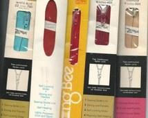 Vintage Set of 15 Zippers