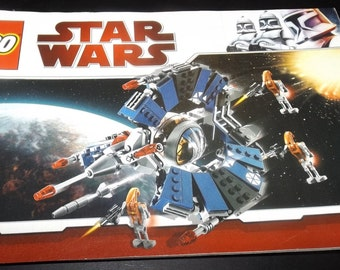 Lego Star Wars assembly booklet 8086