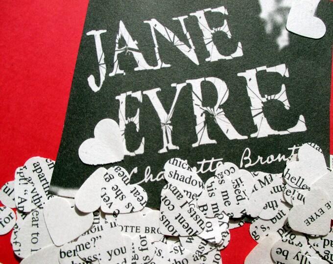 1000-Wedding Confetti-Jane Eyre confetti-vintage wedding decorations-Book novel confetti-bridal shower decor-Romeo and Juliet-Great Gatsby-