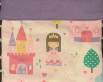 Pretty Princess Snuggle Sack for Small Animals