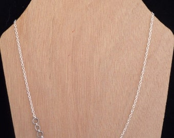 Delicate Sterling Silver Chain Necklace