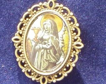 Saint Odilia Religious Medal