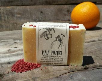 Maui Mango Handmade Vegan Soap 5 oz.