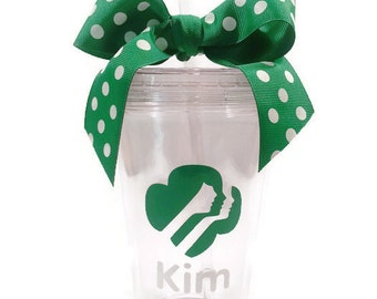Girl Scout Personalized Tumbler