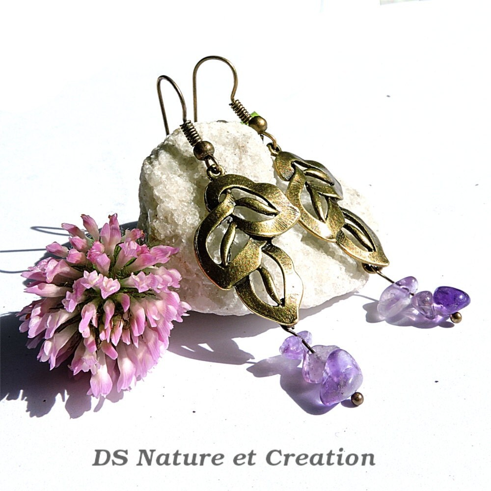 amethyst gemstone jewelry - photo #1
