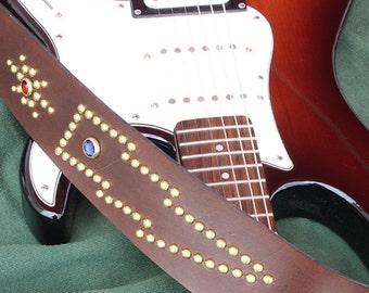 Western guitar strap