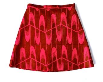 Girls skirt/teens skirt/Trapeze skirt for girls size 6 to 16/French handmade children's clothing