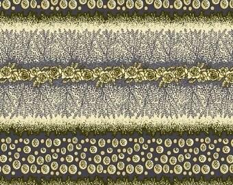 Dear Jane - Purple Garden Stripe Fabric - Fat Quarters Only