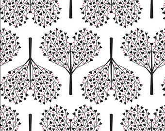 Removable Wallpaper, Tree wallpaper, Heart wallpaper, Peel and stick wallpaper, Kids wallpaper, Nursery wallpaper, wallpaper, self adhesive