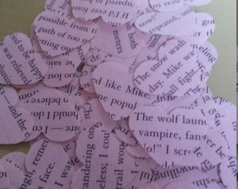 Twilight heart shaped confetti, perfect for weddings, Halloween and other special occasions