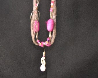 chain from silk cocoons
