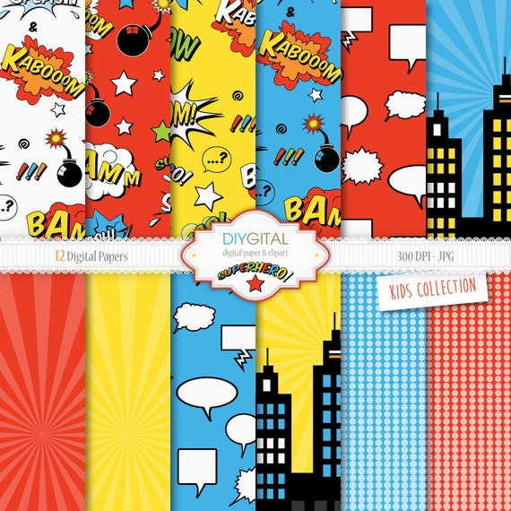 superhero paper Action-packed party supplies for your superhero birthday party hang these paper lanterns for easy party decorations or cluster them together for a unique diy.