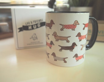 Dachshund Mug ** FREE name engraving!!! **