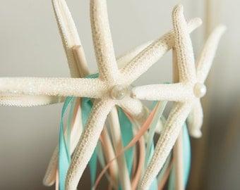 Little Mermaid birthday wand, Under the sea birthday wand, starfish wand