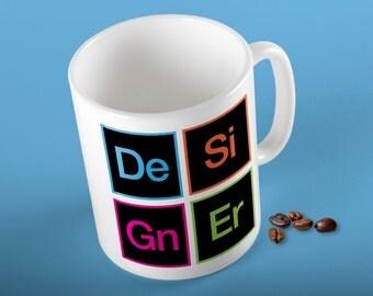 Creative Suite Inspired Graphic Designer Coffee Mug