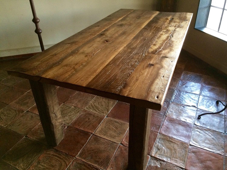 Esstisch templertisch goldene tafel aus 300 jahre alter for Esstisch tafel