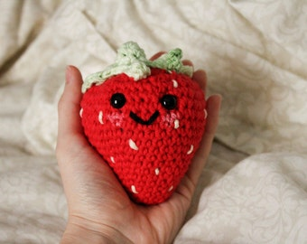 Amigurumi Strawberry