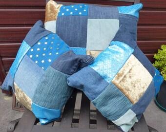 Patchwork Cushion Set