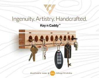 key holder, wood key holder, wall-mounted key holder, key holder for the home, key storage holder, wooden wall key organizer, key organizer