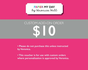 Custom Design Order - 10