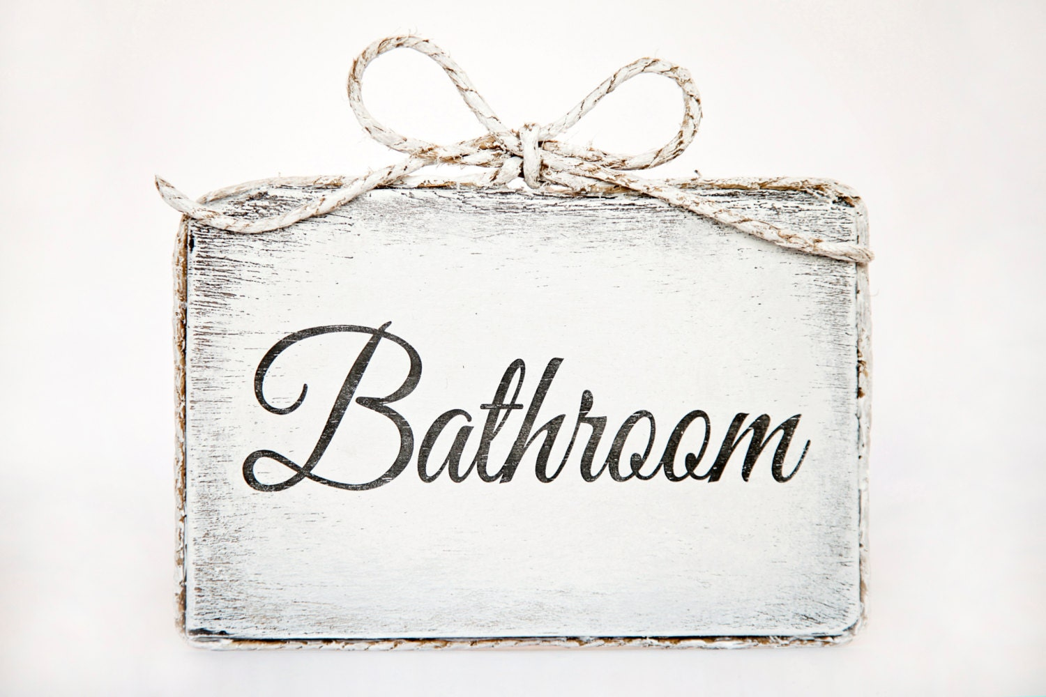 cute handmade wooden bathroom door sign bathroom home