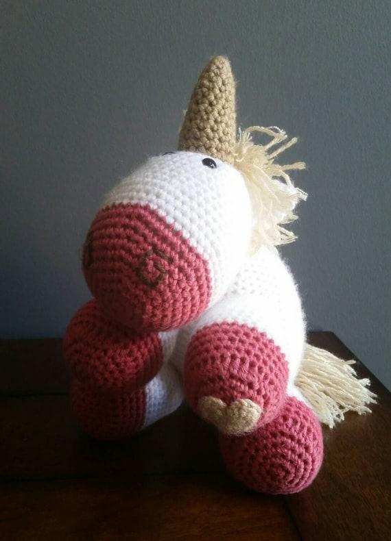 Amigurumi Unicorn Horn : Crochet Unicorn Amigurumi