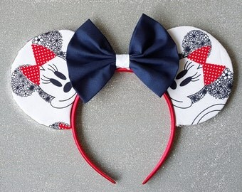 Flower Minnie Mouse Ears