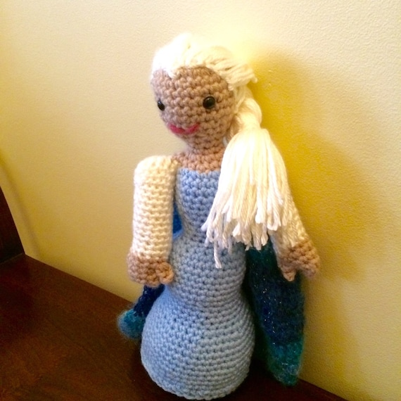 Amigurumi Frozen Doll : Elsa Frozen Doll Amigurumi Support the Cause