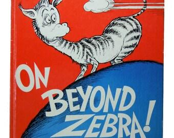 On Beyond Zebra Dr. Seuss 1955