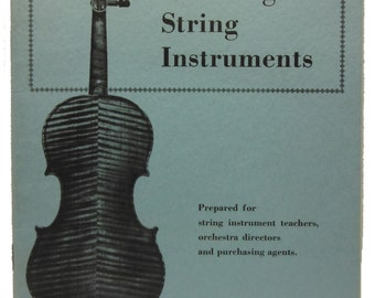 Violin Guide for Ordering String Instruments Violins MENC Scherl & Roth 1961