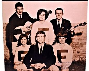 Hootenanny THE GLENCOVES Vintage Sheet Music 1963
