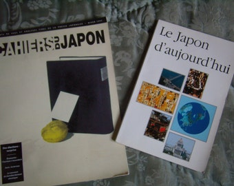 Two magazines on Japan, french language, 1994-95,