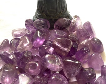 Tumbled Amethyst from Brazil
