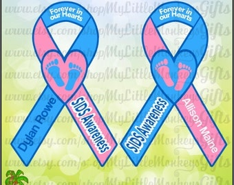 Awareness Ribbon SVG ~ SIDS Awareness Ribbon ~ Baby Loss ~ Baby Memorial ~ Baby svg ~ Commercial Use SVG ~ Cut File Clipart svg-dxf-eps-png