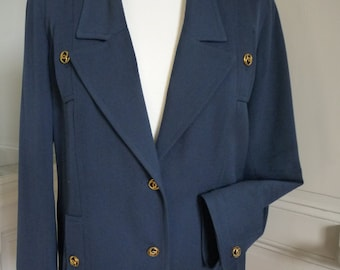 CHANEL jacket vintage woman-size 42FR