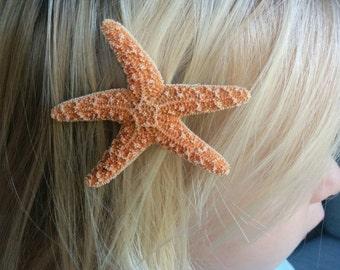 Starfish Hair Accessories, Starfish Hair Clips - Mermaid Hair - Beach Hair Accessories