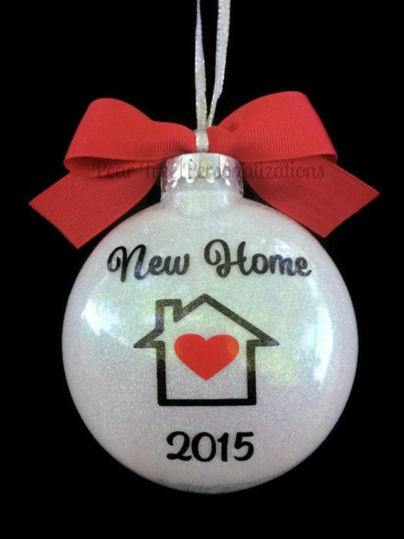 New Home Ornament Christmas Ornament by PearTreePersonal ...